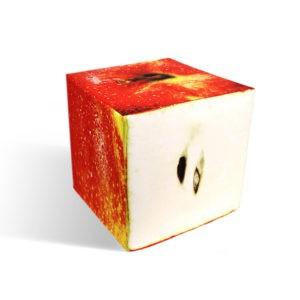 Apple cube seat