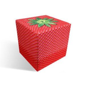 Strawberry cube seat