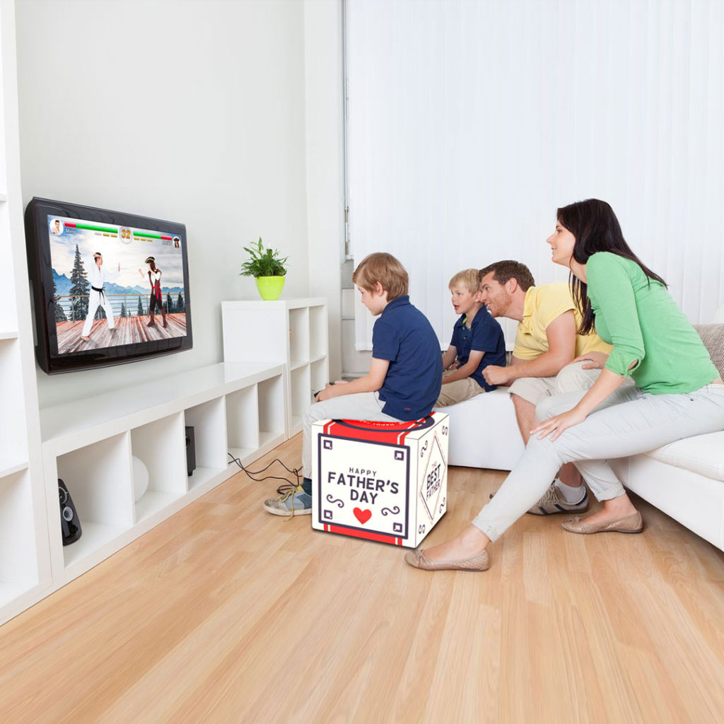Father Day Cube Ottoman Living Room Game Pscube 1080