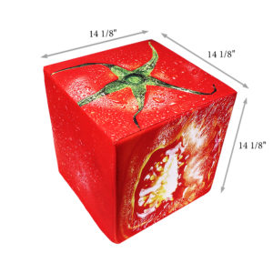 Tomato cube seat