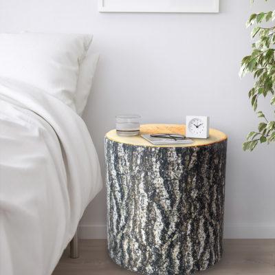 2019-feb-15-Sweetgum Cylinder-bedside table