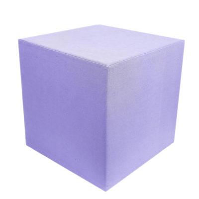 Linen violet cube-1