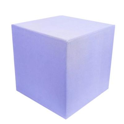 Violet Linen Cube